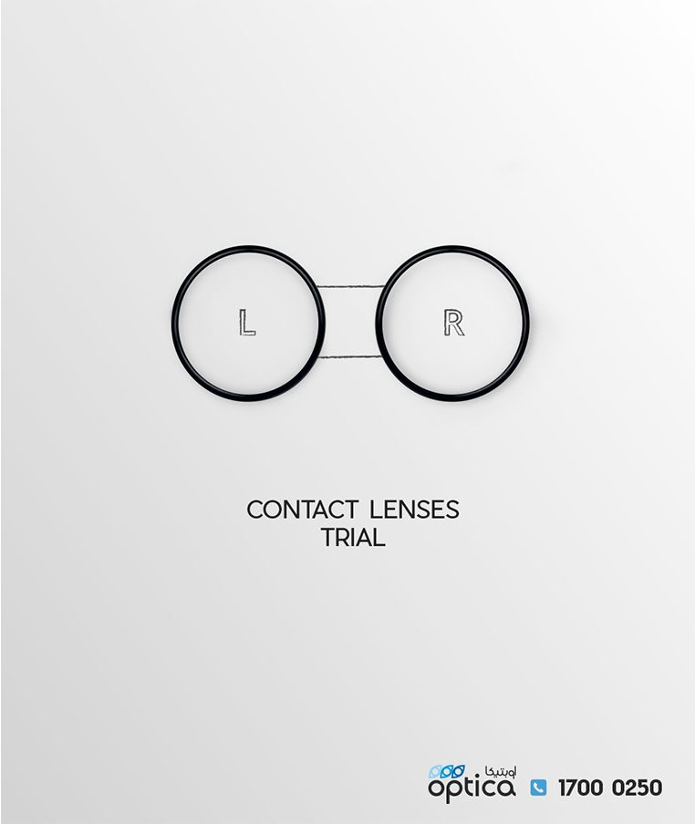 d0b0eaa129a8 OPTICA SERVICES DIGITAL CAMPAIGN 06 Contact Lenses Trial by Mohamed Rayan  on behance. minimal simple and friendly Ad #behance #glasses #fashion # eyewear #ad ...