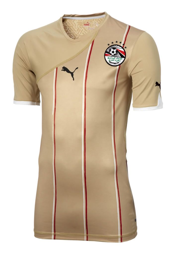 d9f2cb5886c Egypt (Egyptian Football Association) - 2010 Africa Cup of Nations Puma  Away Shirt