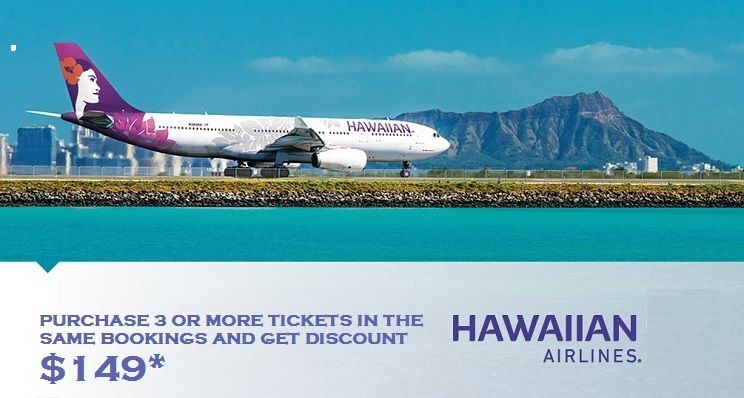 Affordable hawaiian airlines reservations 18559483805