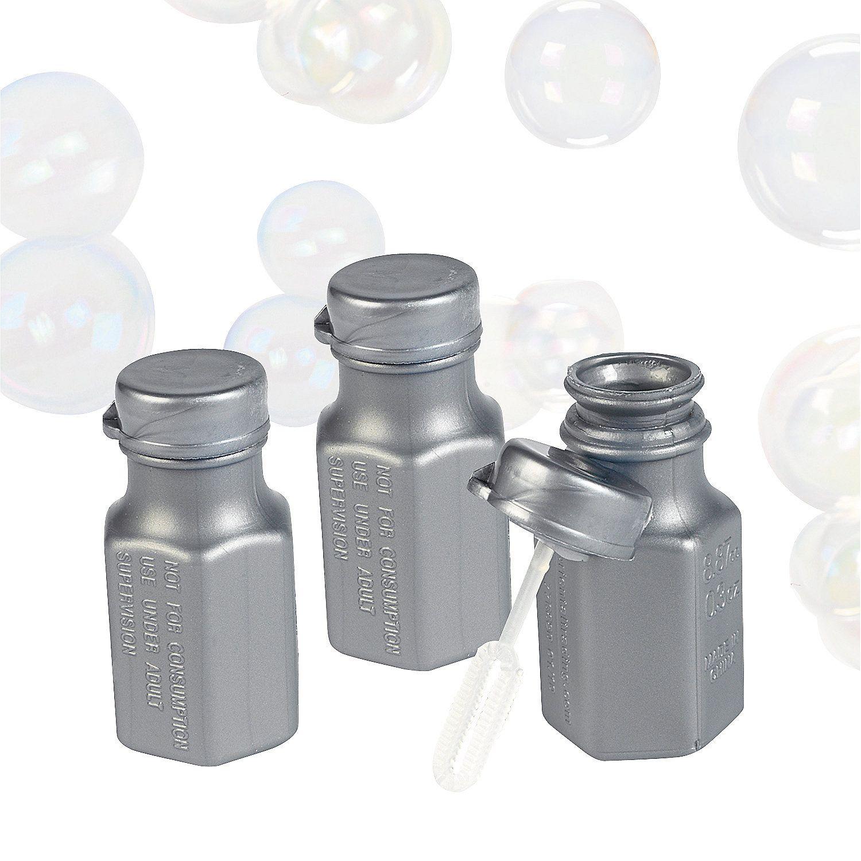 Hexagon Bubble Bottles | Bottle, Wedding colour schemes and Wedding ...