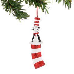40c87fa7 Cat In The Hat Ornament, Dept. 56 Dr. Seuss | Dr. Seuss Products ...