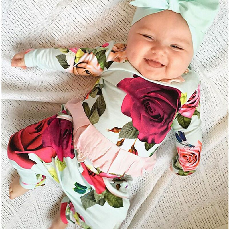 Cheap baby girl clothes set, Buy Quality newborn infant directly from China baby  girl clothes Suppliers: Newborn Infant Baby Girls Clothes Set Flower Cute  ...