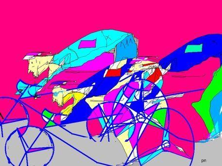 'Endspurt' von Peter Norden bei artflakes.com als Poster oder Kunstdruck $23.56