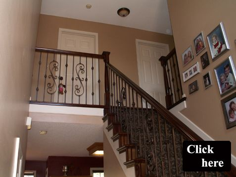 Dramatic Iron Spindle Replacement And Staircase Modification Overland Park  Kansas