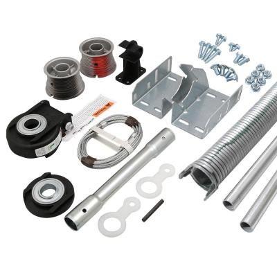 Clopay Ez Set Torsion Conversion Kit For 16 Ft X 7 Ft Garage Doors 191 Lbs 211 Lbs Garage Door Torsion Spring Garage Door Accessories Torsion Spring