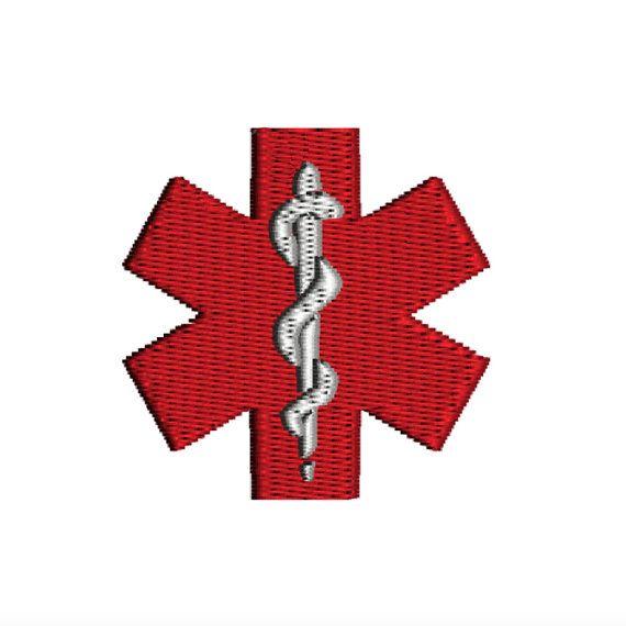 MEDICAL ALERT Symbol Health Awareness Logo Machine by TracenLines