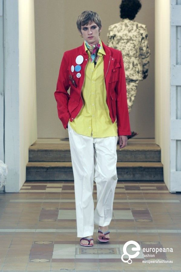 Christian Lacroix, Spring-Summer 2005, Menswear