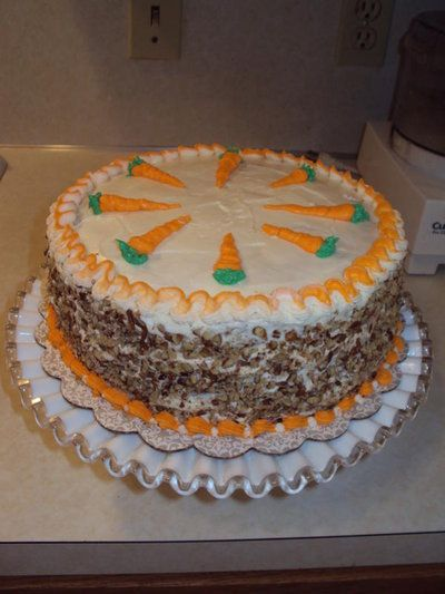 Blue ribbon winner carrot cake recipe
