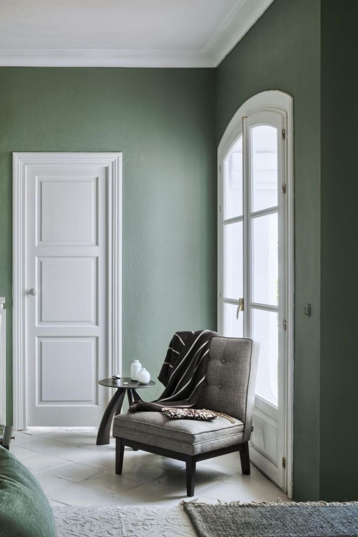 peinture vert de gris