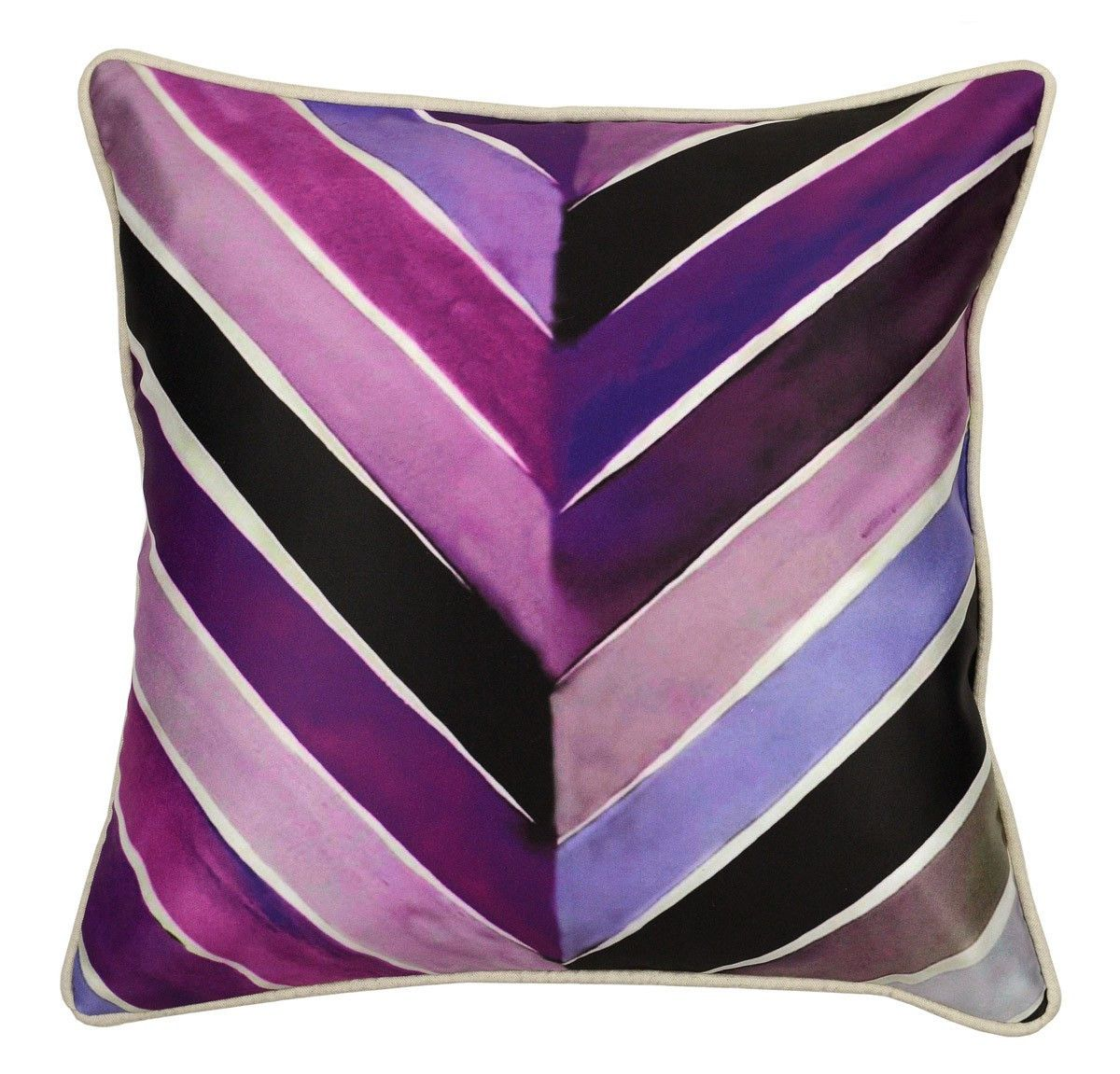 Engineered nature ami plum pillow design by villa home