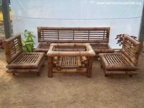 Muebles de bambu victoria youtube muebles r sticos - Muebles en bambu ...