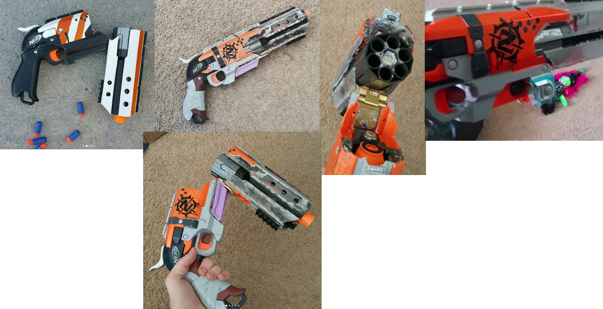 Break Action Hammershot Mod P 02 Nerf Mods And More Pinterest