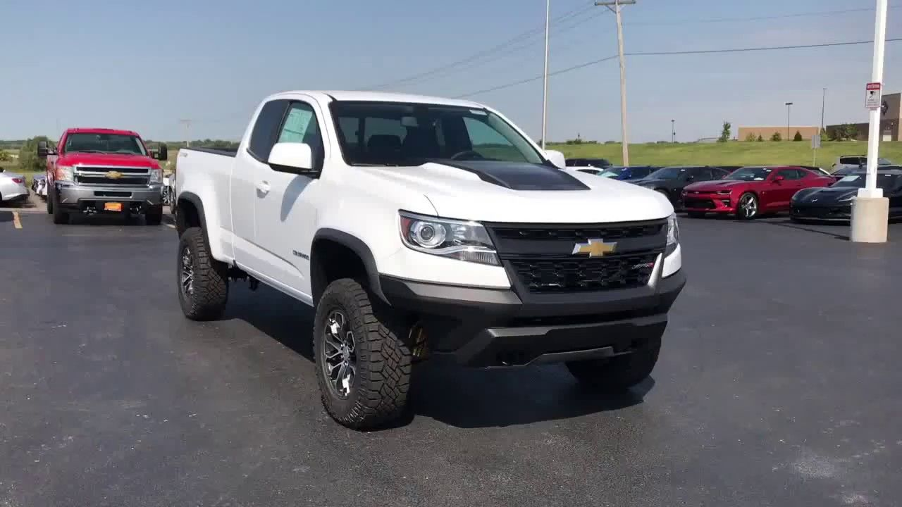 New For 2018 Chevy Colorado Zr2 Exterior Video Ron Westphal