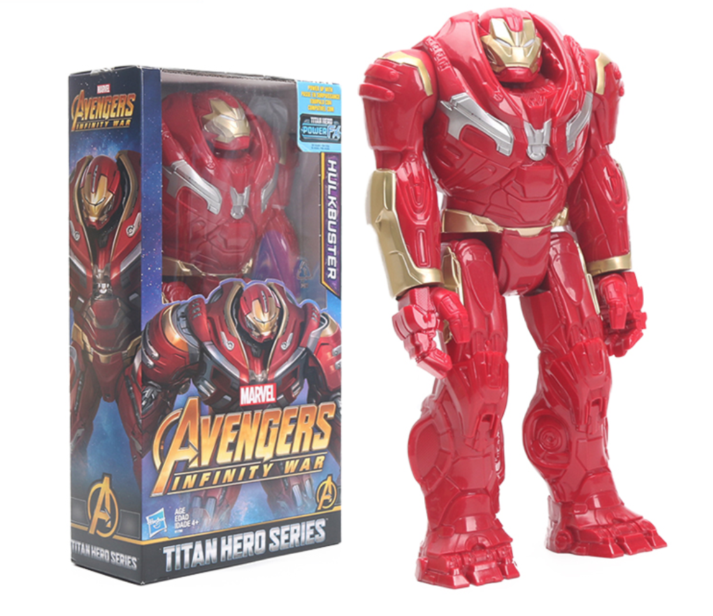 Lot 7 pcs Avengers Endgame Thor Hulkbuster Iron man  Thanos Action Figures Gift