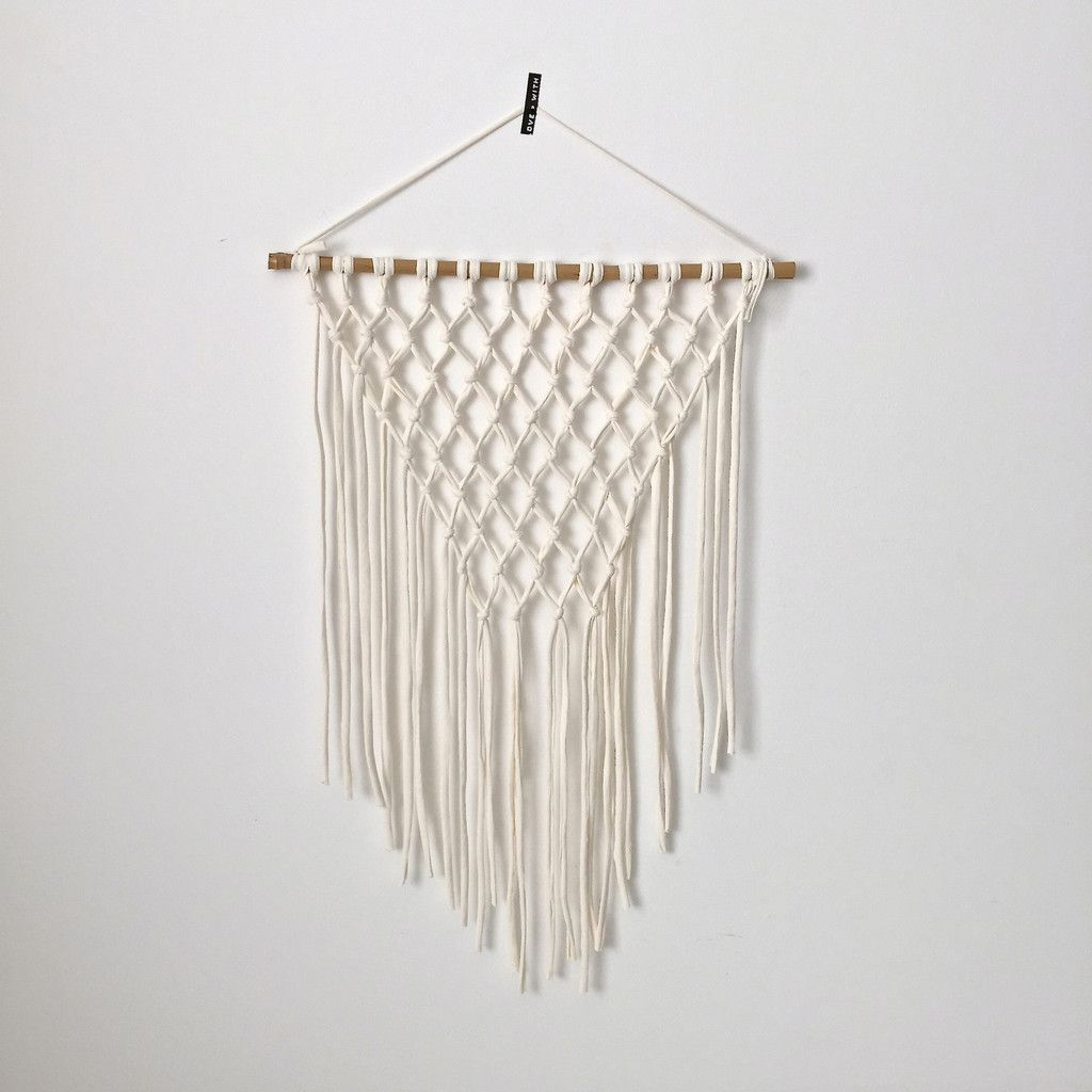 Macrame Wall Hanging Macrame Pinterest Walls Wall