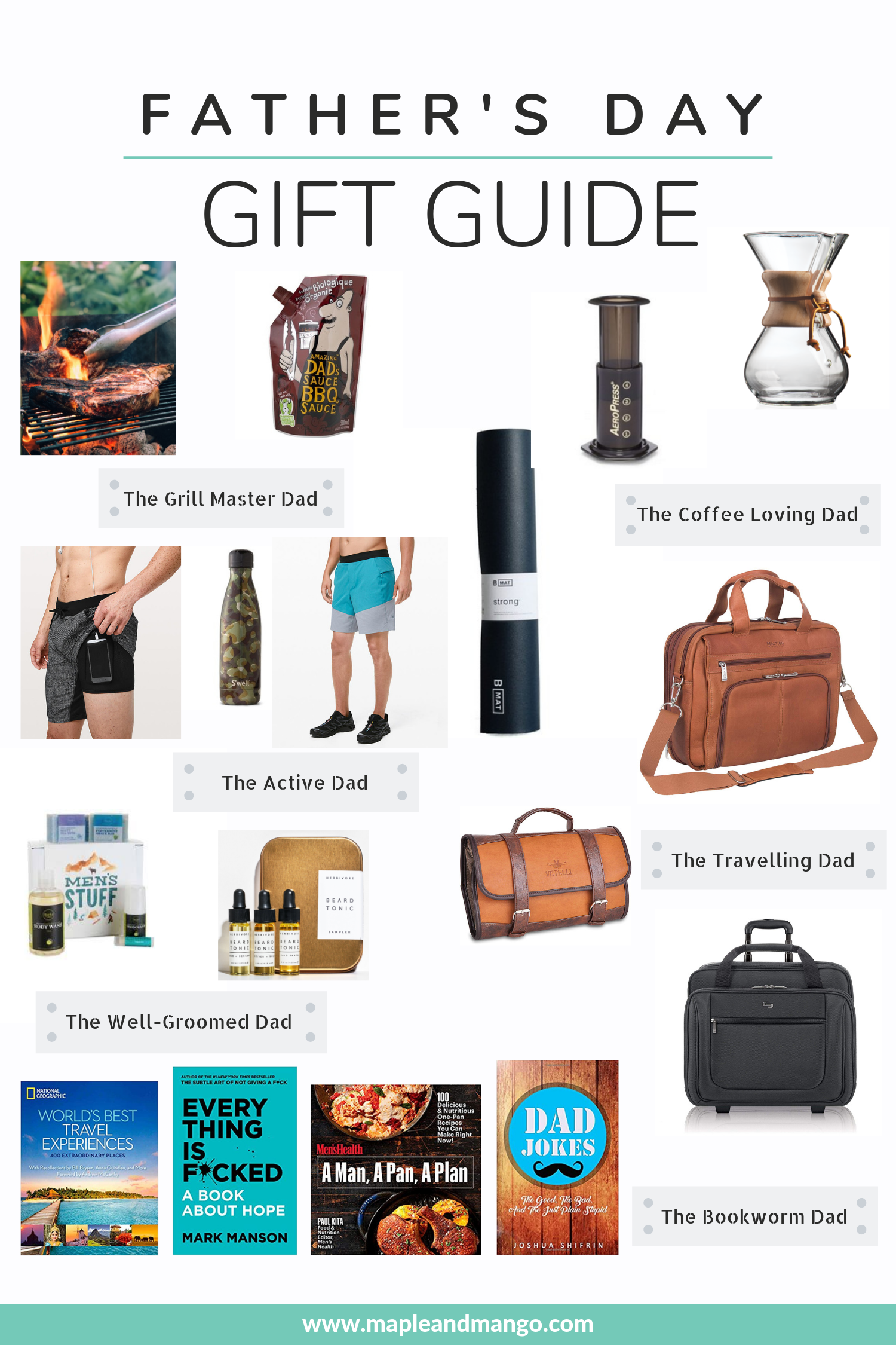 Father S Day Gift Guide Gift Ideas For Men Fathers Day