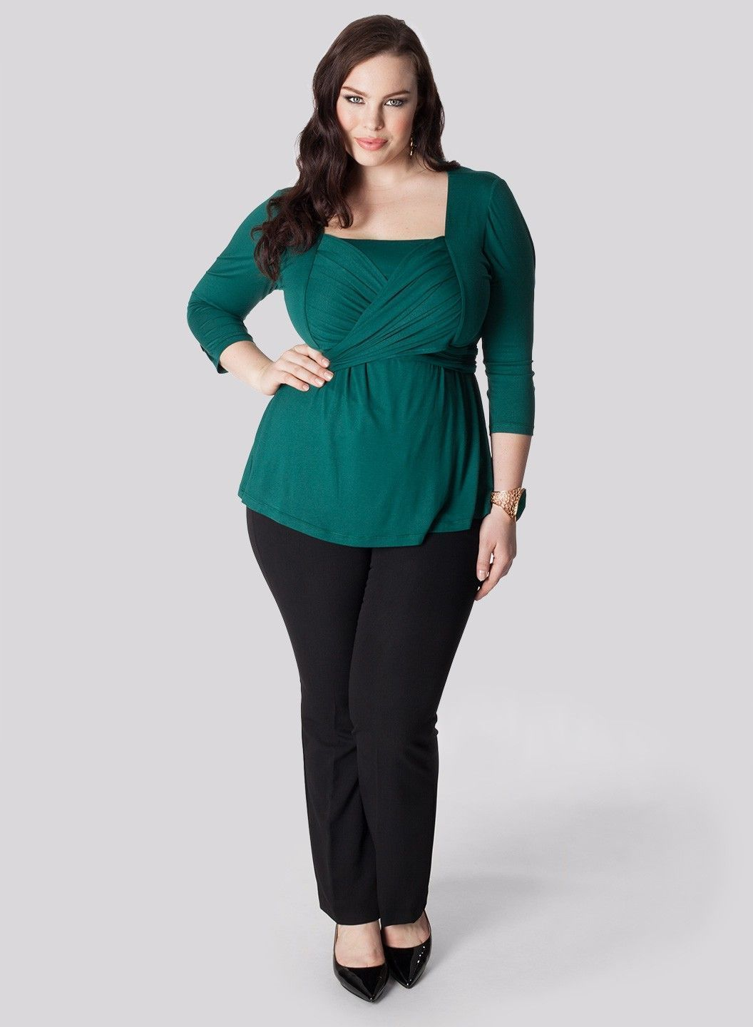36 Work Outfit Ideas For Plus Sized Women | Business ...