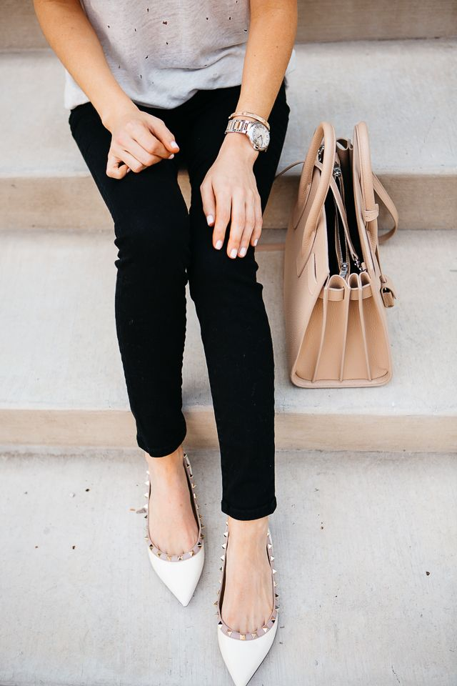 Valentino Cloth Flats