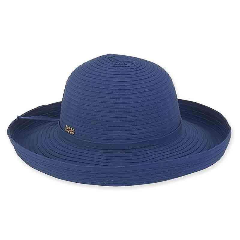 54313b32f1157 Maisie Up Brim Ribbon Sun Hat - Sun n Sand — SetarTrading Hats