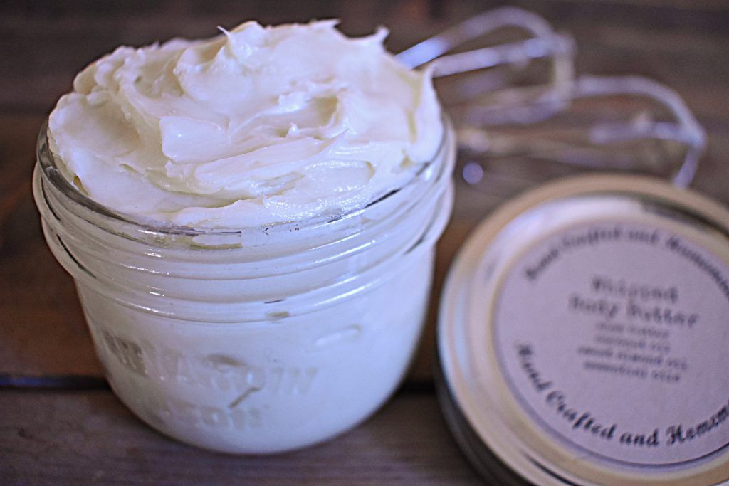 Homemade Body Butter with no Coconut Oil. Coconut Oil can