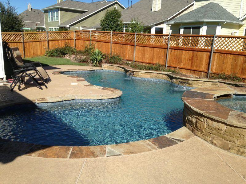 Oklahoma flagstone coping brumfield swimming pool for Pool design okc