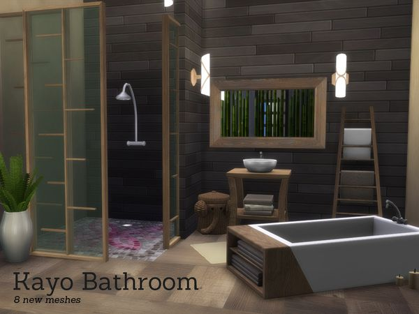 The Sims Resource Kayo Bathroom By Angela Sims 4 Downloads Sims House Sims 4 Sims