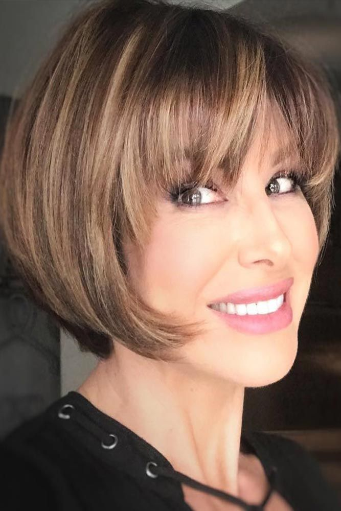 85 Stylish Short Hairstyles For Women Over 50 Lovehairstyles Com Short Bob Hairstyles Hair Styles Short Hair Styles