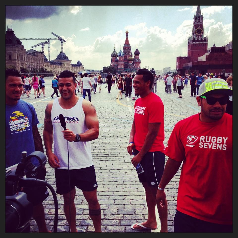 Usa Rugby Sevens In Red Square