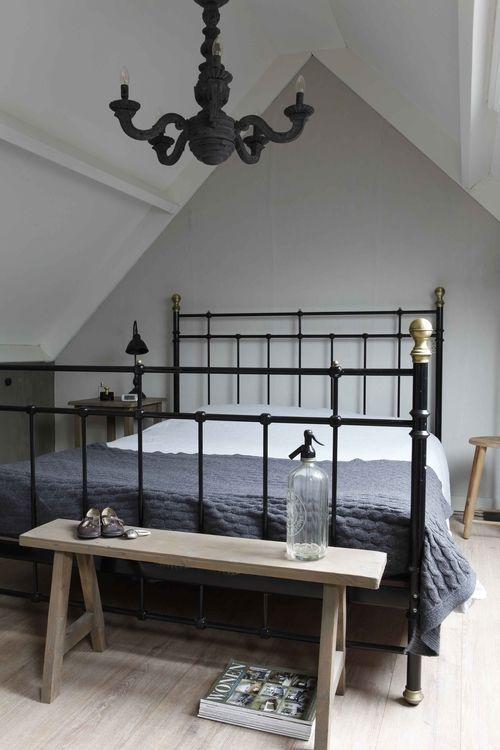 landelijke slaapkamer accessoires