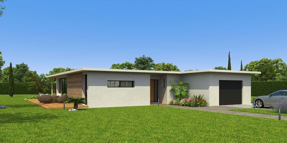 Maison rt 2012 du constructeur ccmi ecop habitat maison for Constructeur maison ecologique