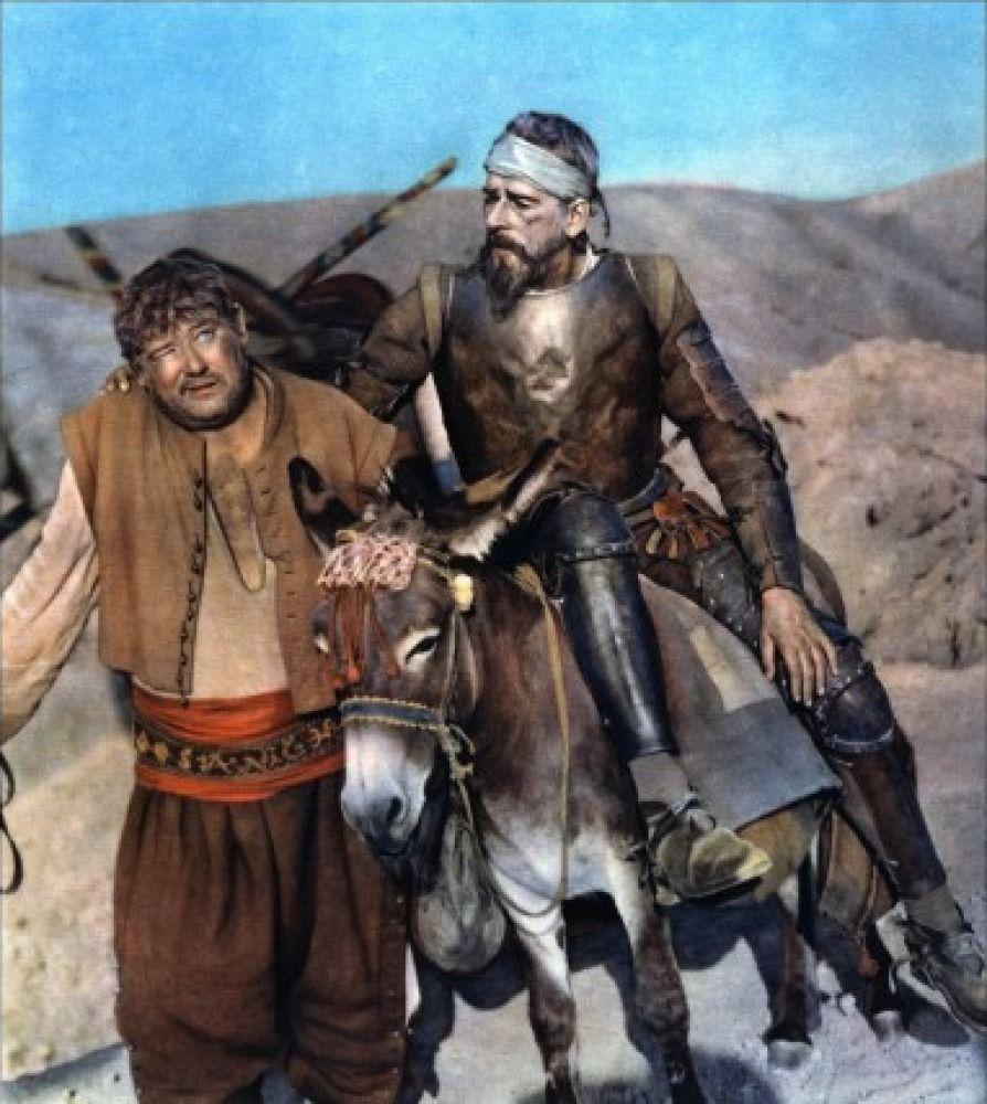 Don Quichote & Sancho Panza
