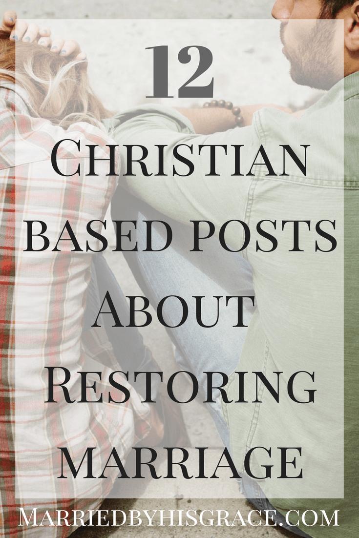 Restoring marriage after separation
