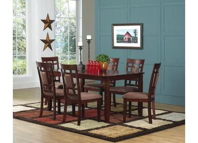 Gilmore Table   Seat 6   Badcock Furniture   $398 · Table SeatingDining  RoomsDining ...
