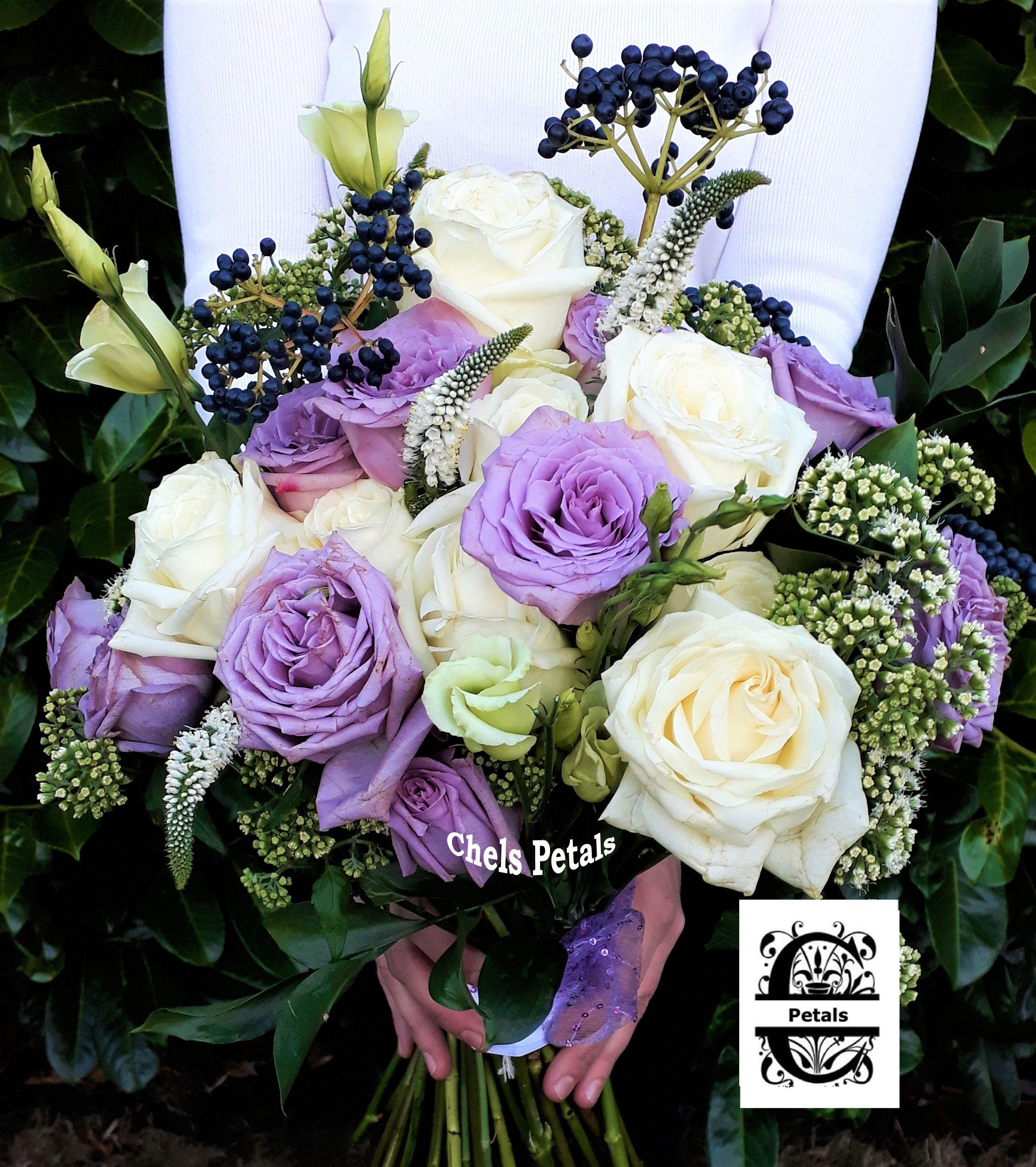 Chels Petals Wedding Bouquet Pink White Roses Wedding Petals Wedding Bouquet Pink White Wedding Bouquets Pink