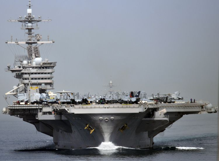 21 Photos That Show Just How Imposing Us Aircraft Carriers Are Aircraft Carrier Navy Carriers Navy Aircraft Carrier