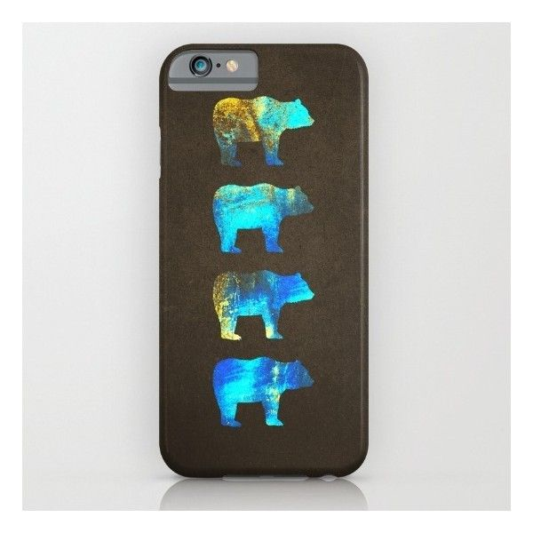 Bear Spirits iPhone 6s Case ($35) ❤ liked on Polyvore featuring accessories, tech accessories and iphone & ipod cases