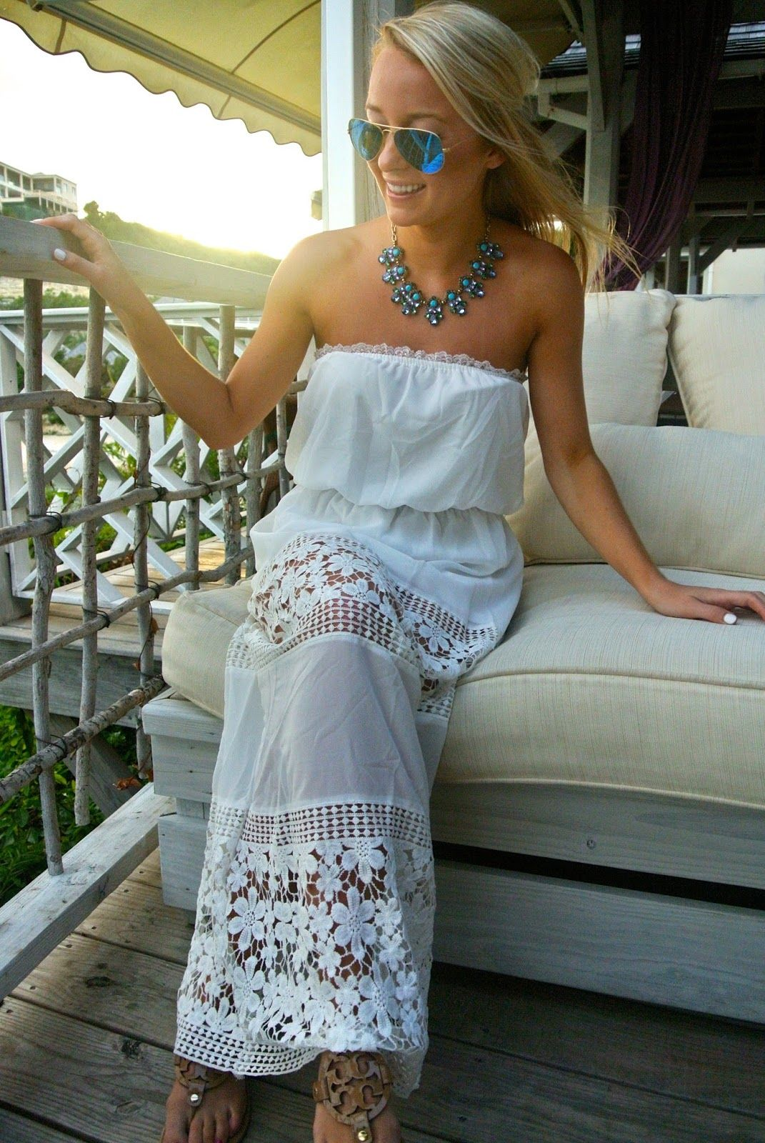 81f6965d2c02 White Crochet Maxi Dress // Antigua vacation outfit //  www.amybelievesinpink.com