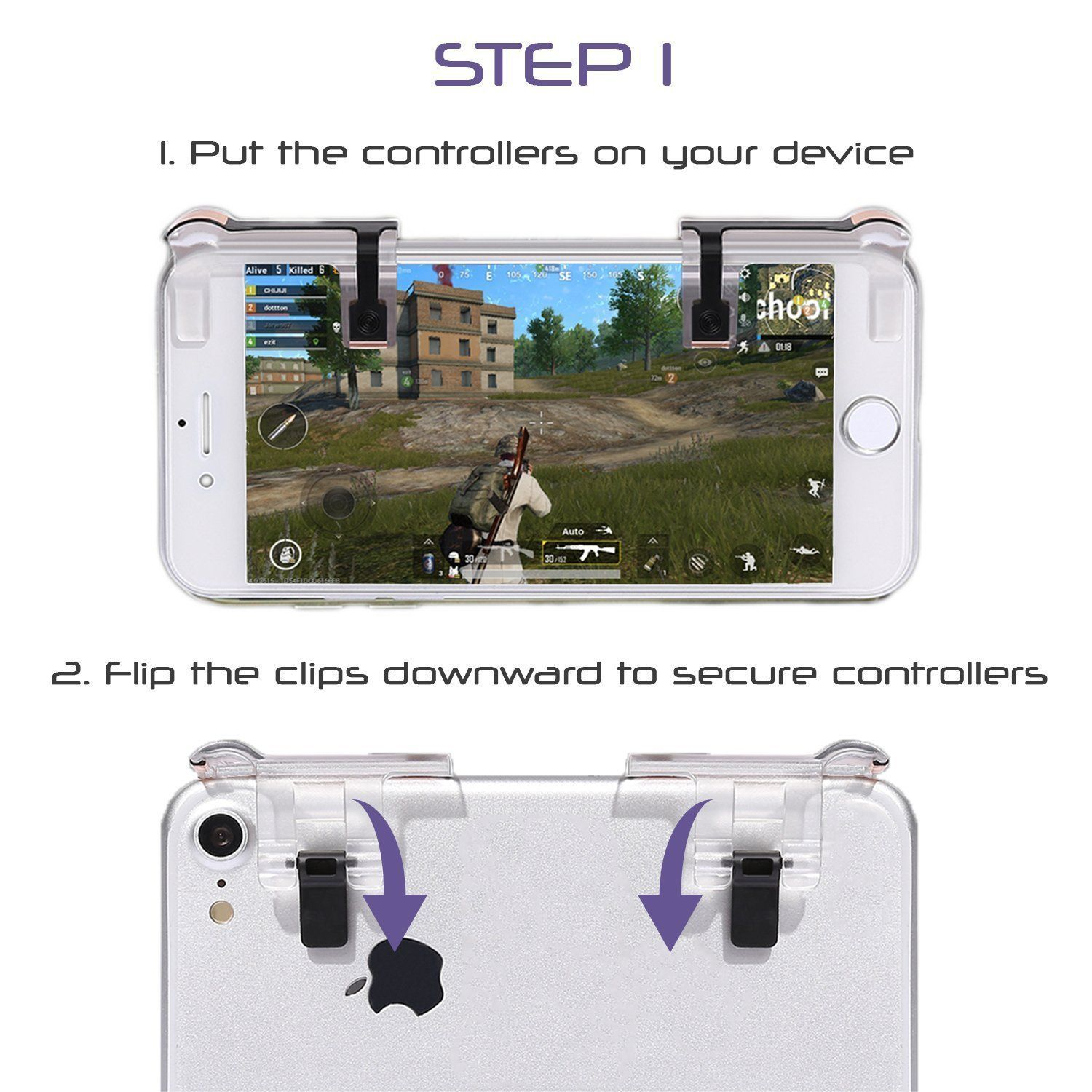 Mobile Game Controller Sensitive Shoot Aim Triggers Stick for PUBG Gaming Joystick for Android iOS