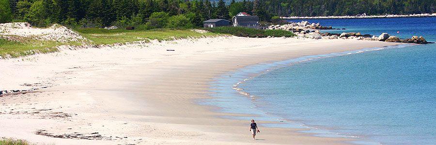 My favourite beach in nova scotia so far