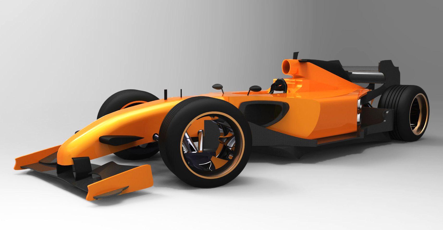 2014 F1 Car Design Concept Redesigned Cars Race