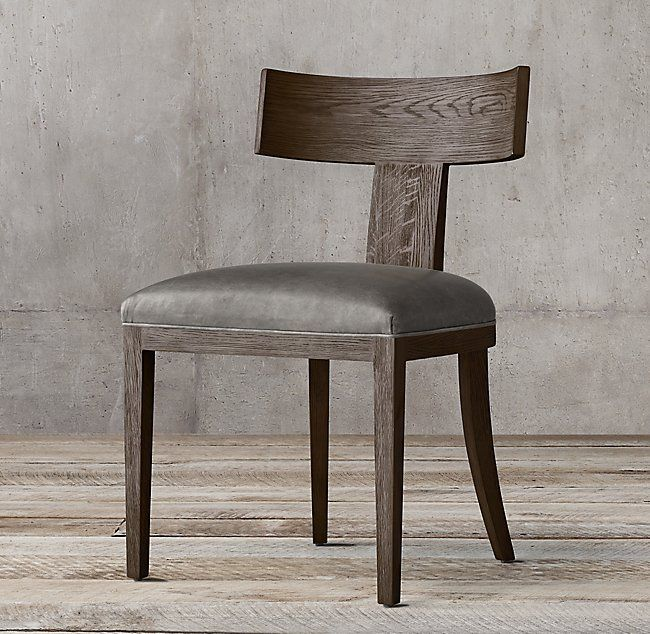 Ivory Leather Dining Chairs With Oak Legs