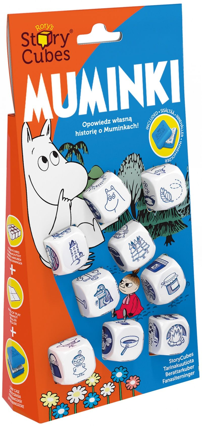 Story Cubes Muminki Story Cubes Cube Frosted Flakes Cereal Box
