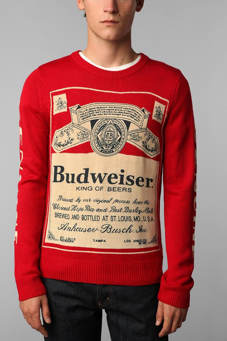 Eff the boyfriend. He hates wearing red. This sweater would be for ...