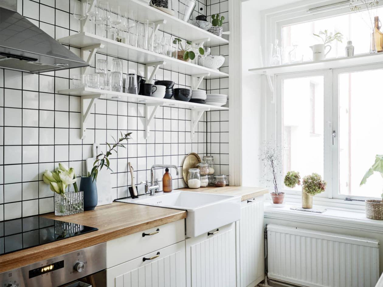 Kitchens That Get Black White Just Right Kitchen Stylish
