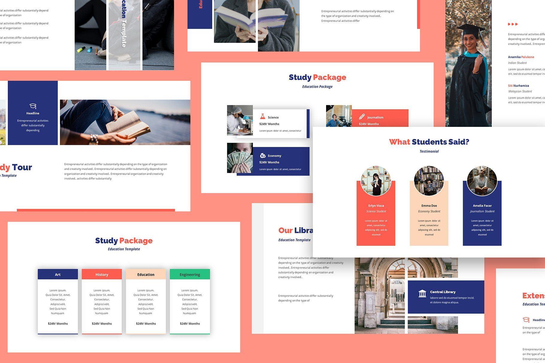 Academia Education Keynote Template Aff Easily Pictures