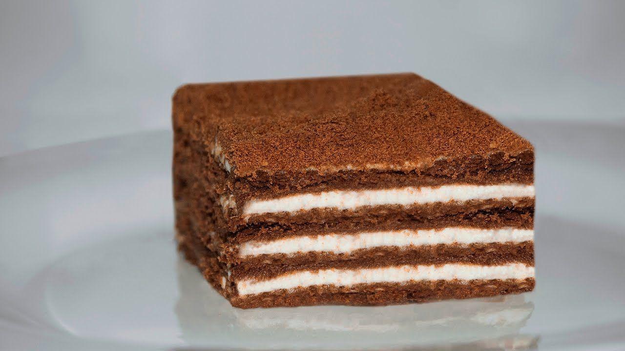 Торт без выпечки просто и вкусно