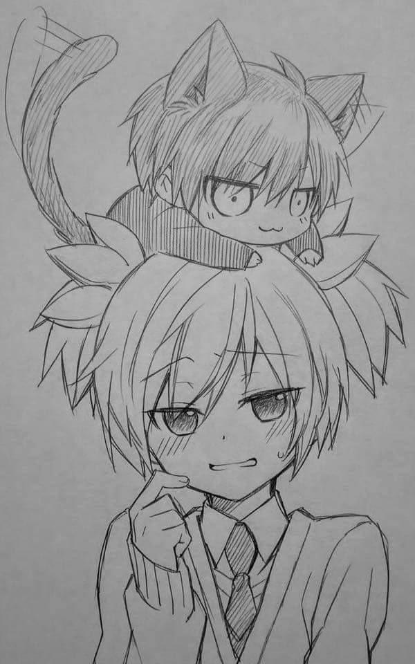 Karma did have a catty personality XD - DA | Carnage Pair | KaruNagi | KaruGisa | Karma Akabane x Nagisa Shiota | Assassination Classroom
