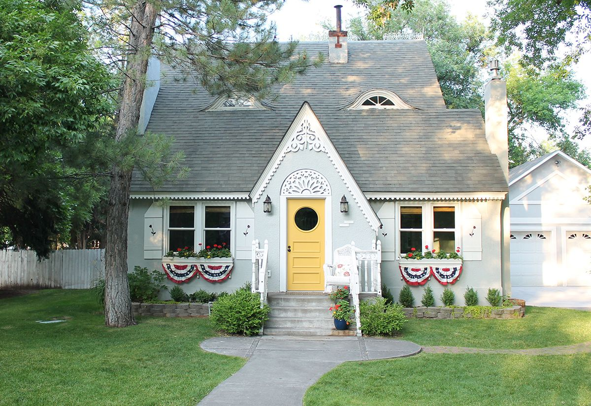 The Childhood Dream Home Turned Dream Come True is part of Coming home Aesthetic - After years of admiring the home's charming exterior, the owner made it her own