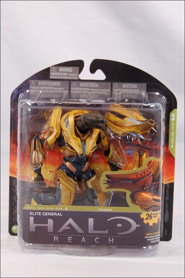 Elite General Series 4 Halo Reach action figure