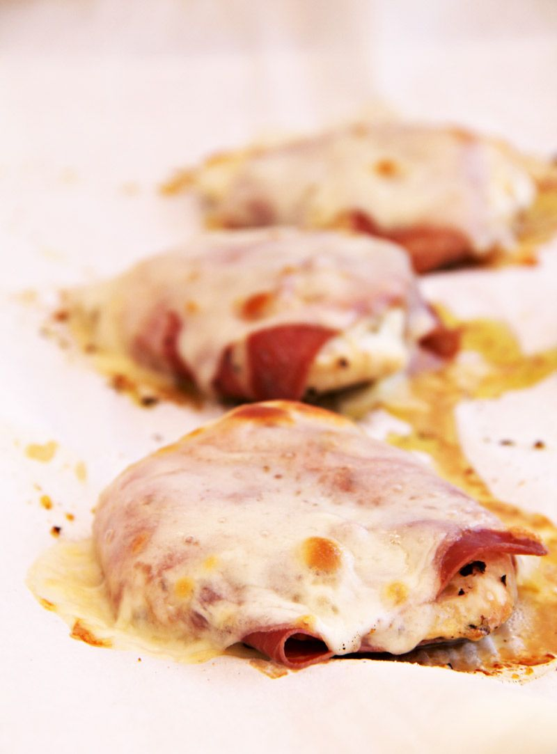 Quick and easy chicken with prosciutto food pinterest a quick easy chicken recipe with just chicken breasts prosciutto and provolone cheese dinner is ready in less than 30 minutes forumfinder Image collections